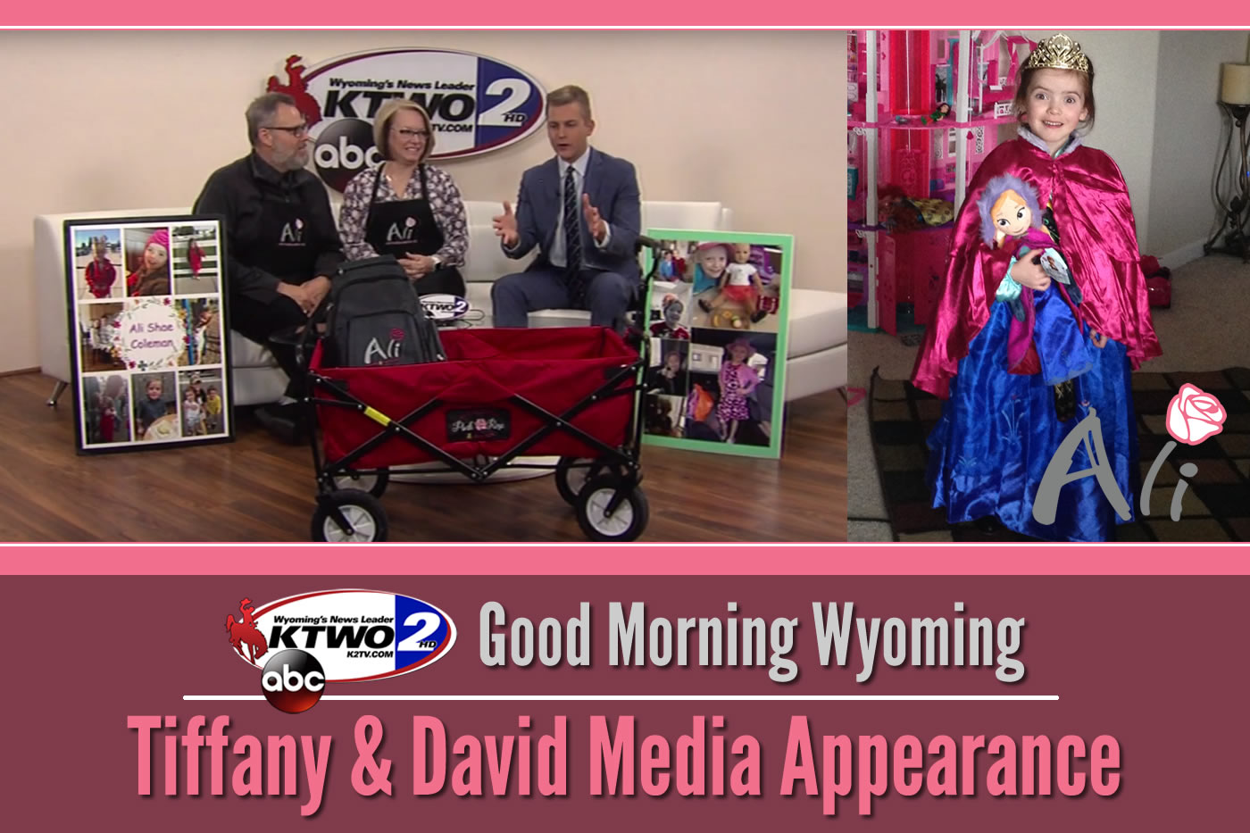 Tiffany Coleman & David Anderson on Good Morning Wyoming