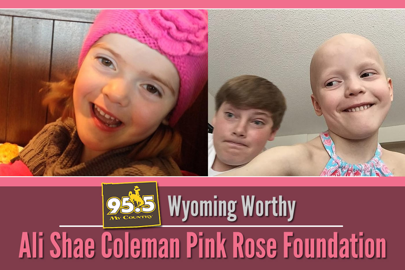 The Pink Rose Foundation featured on My Country 95.5